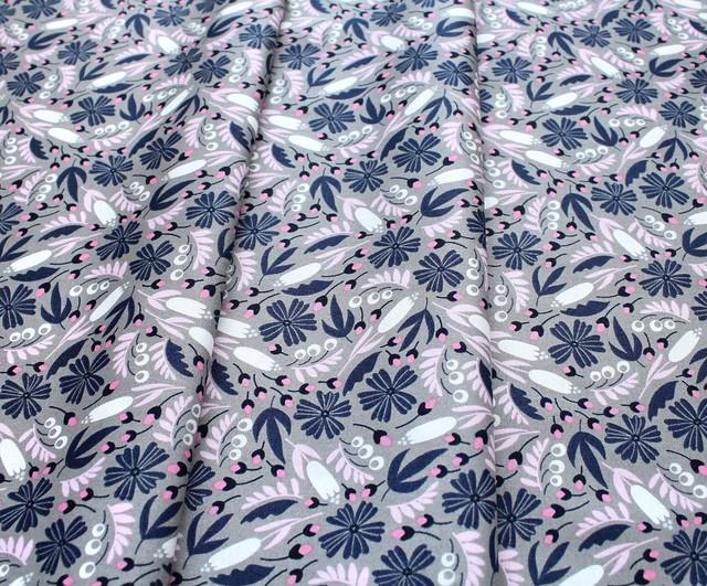 Felicity Fabrics Alpine Meadow in Bluebell 610031