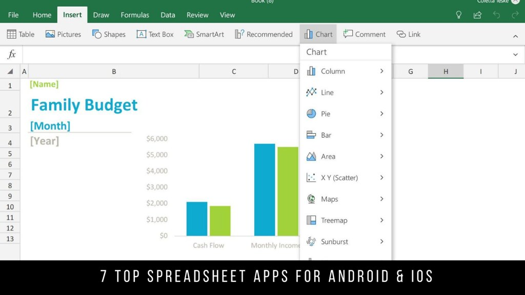 7 Top Spreadsheet Apps For Android & iOS