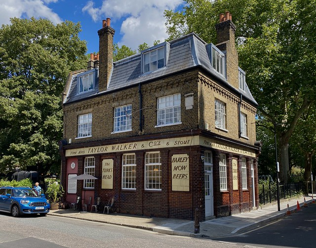 The Turk's Head, Wapping, London, August 2020