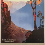 Mon, 2020-08-03 13:06 - Australia Blue Mountains New South Wales Gum Tree a poster by James Northfield. 1930s PSXedirfrm
