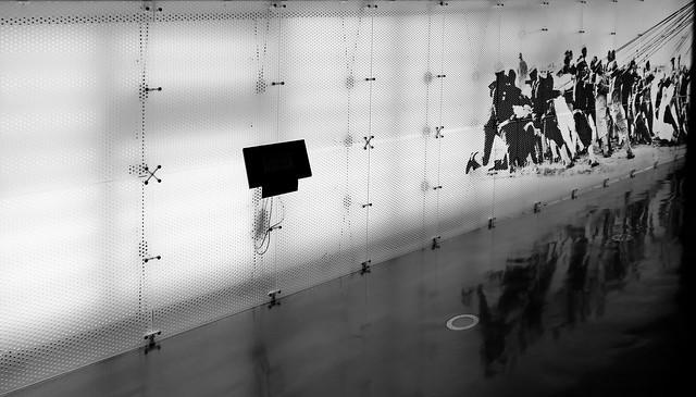 x the info wall  x (explored)