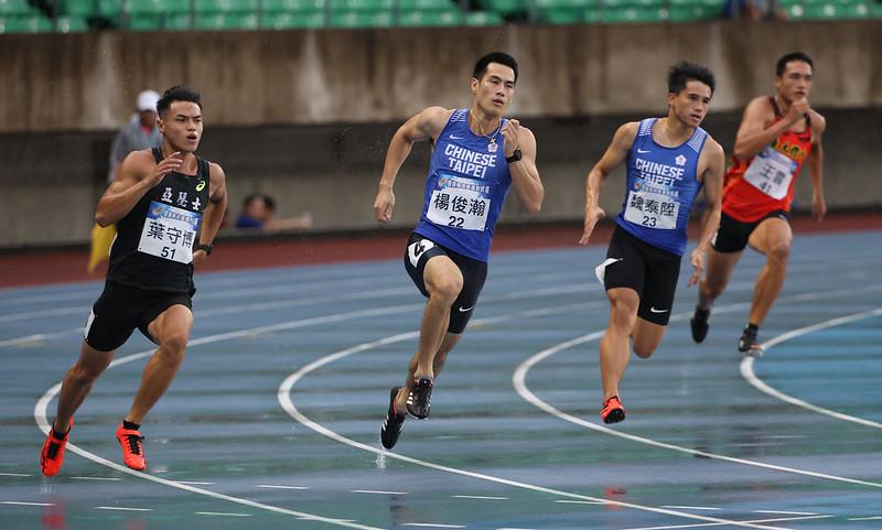 葉守博(左起)、楊俊瀚、魏泰陞。(圖/國訓中心提供)