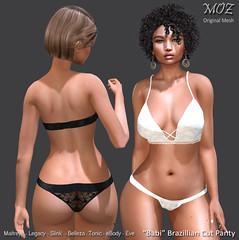 "MOZ ""Babi"" Brazillian Panty"