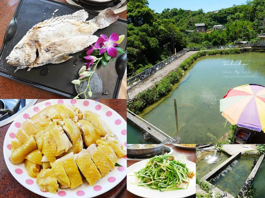 新北新店烏來隱藏版美食庭園餐廳推薦京旺料理好吃合菜中菜中式料理 (2)
