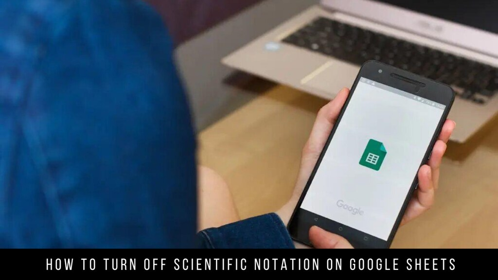 How to Turn off Scientific Notation on Google Sheets