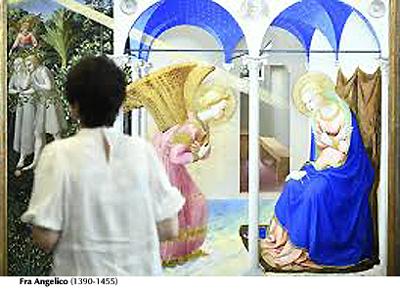 La Anunciación - Fra Angelico