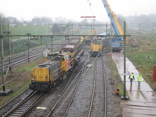 Ontsporing te Utrecht Lunetten 26 november 2005
