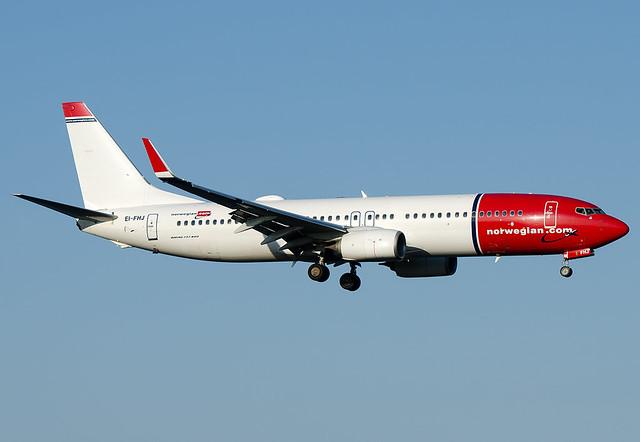 EI-FHJ  Norwegian Air International Boeing 737-8JP