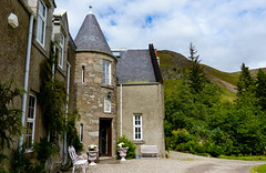 Luxury for a night - Dalmunzie Castle hotel, Glenshee