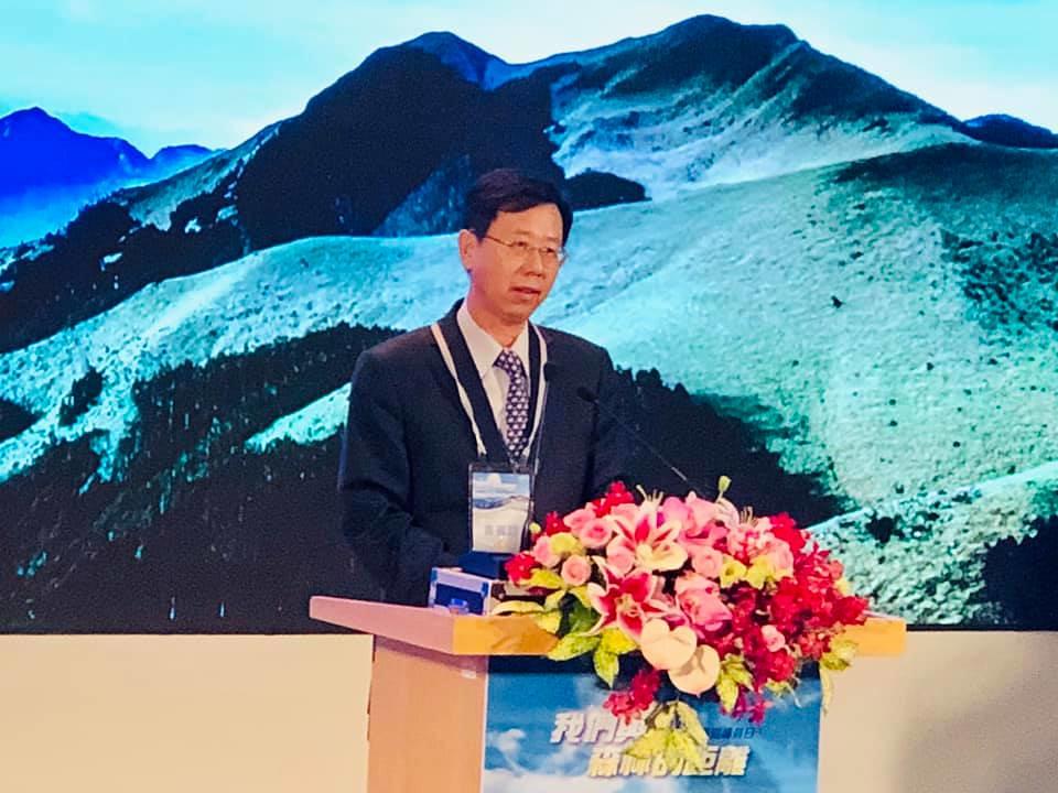林務局長林華慶表示,有好劇本歡迎各方推薦,期待未來能拍以護管員為主題的偶象劇。攝影:蕭紫菡