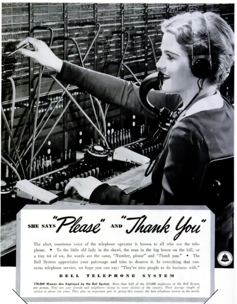 Bell Telephone System 1938