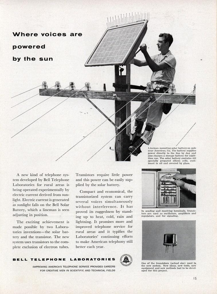 Bell Telephone Laboratories 1956