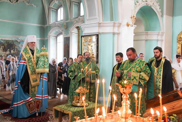 Престольный праздник в храме прп. Серафима Саровского 01.07.2020