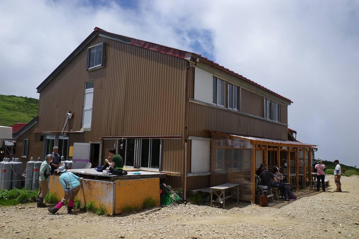 北アルプス・太郎平小屋