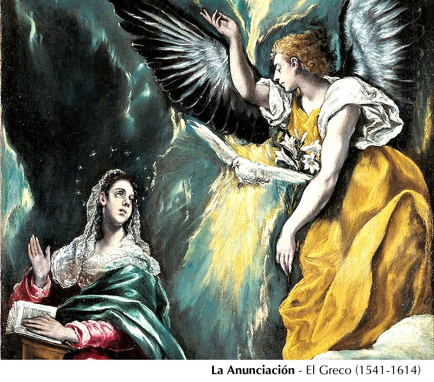 Anunciación - El Greco