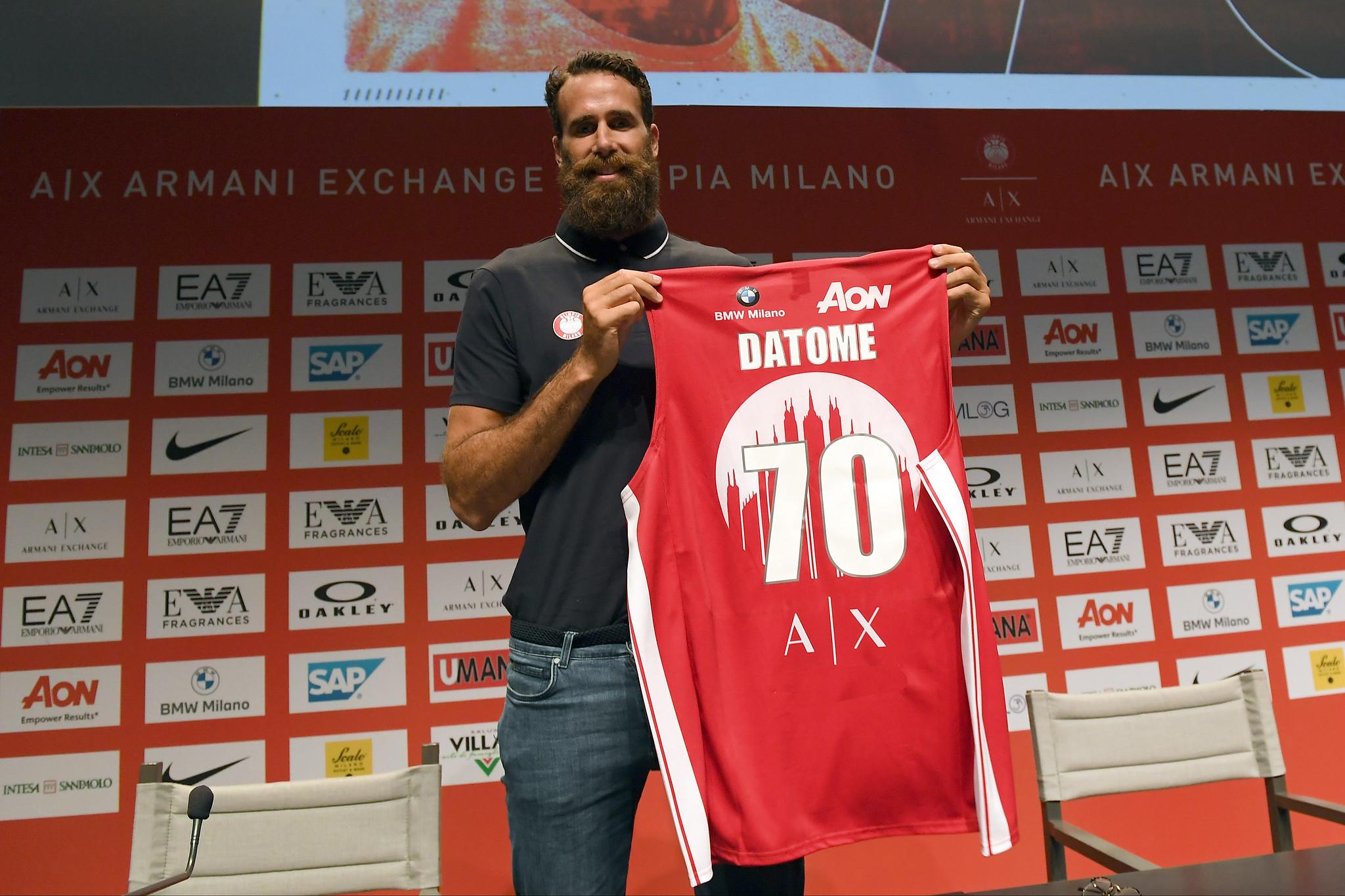 """Gigi Datome: """"Sono convinto che Milano sia il posto giusto. Era la miglior situazione tecnica possibile"""""""