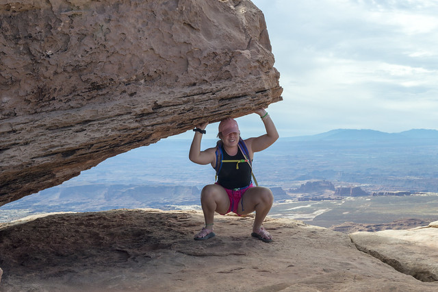 Heavy Lifting in Canyonlands
