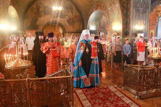 Престольный праздник в Воскресенско-Ильинском храме 02.08.2020
