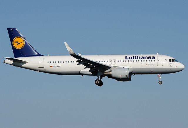 D-AIUQ  Lufthansa Airbus A320-214