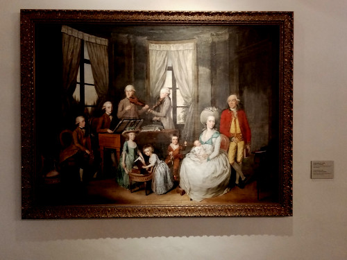 painting of the family