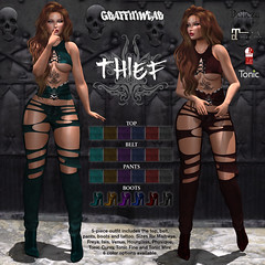Graffitiwear Thief EXCLUSIVE @ The Darkness
