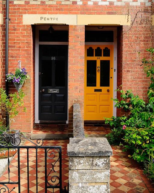 Pentre's Doortrait