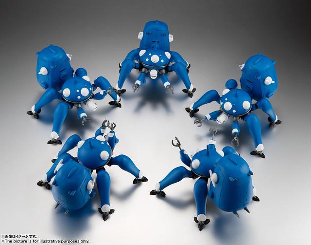 ROBOT魂《攻殼機動隊》塔奇克馬(タチコマ)- S.A.C. 2nd GIG&SAC_2045- 可動模型