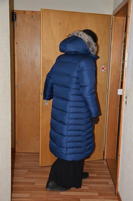 Three warm coats