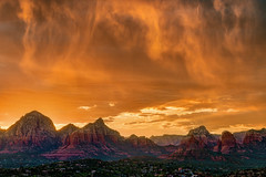 Sedona in Flames