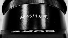 Rokinon/Samyang 45mm f/1.8 FE