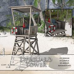 Lifeguard Tower Adult
