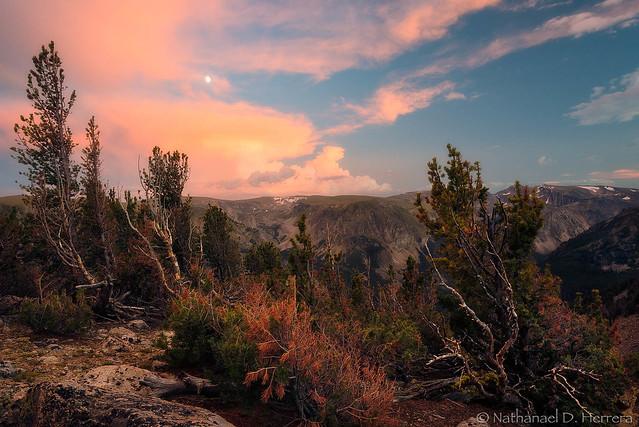 Beartooth sunset