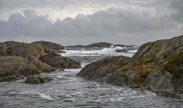 stormy day at Flekkerøy