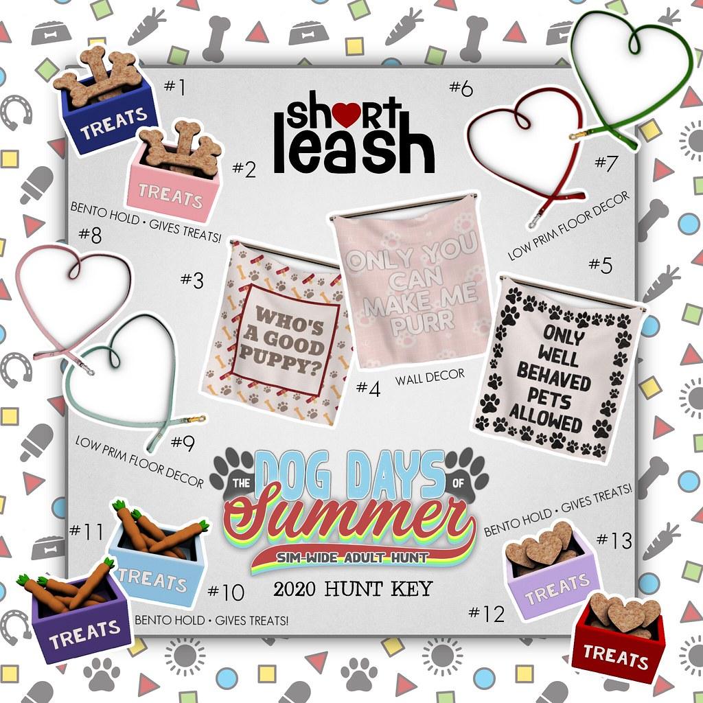 .:Short Leash:. Dog Days of Summer Hunt 2020 Key