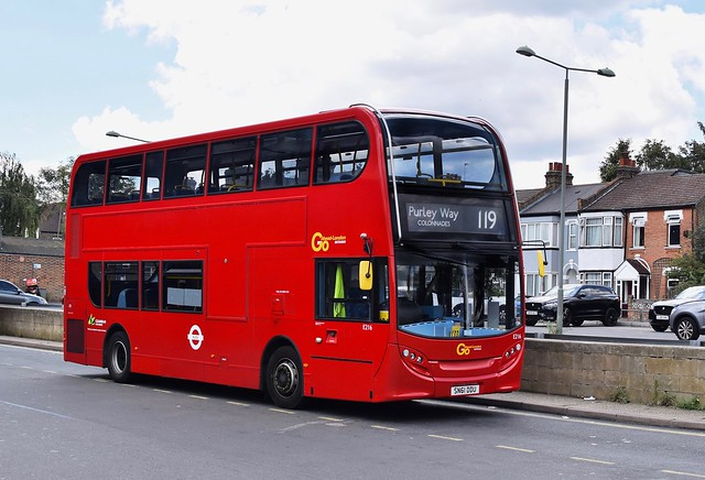 *RARE* Go-Ahead London E400 - SN61 DDU E216 - Route 119