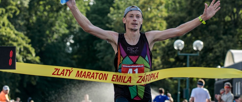 Vítězi Zlatého maratonu Emila Zátopka se stali Křenek a Horáková