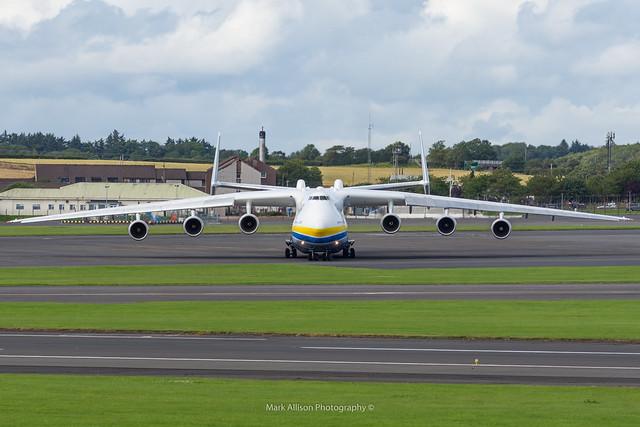 Antonov An-225 UR-82060 at Prestwick