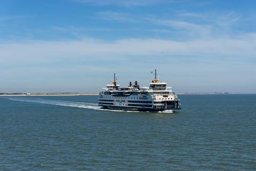 Ferry from Texel to Den Helder