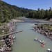 THE COOL SANDY RIVER ON A HOT DAY -203920-
