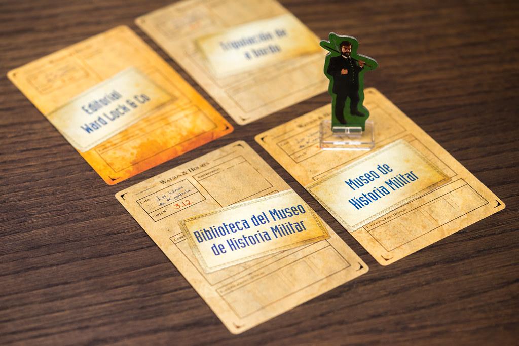 watson & holmes boardgame juego