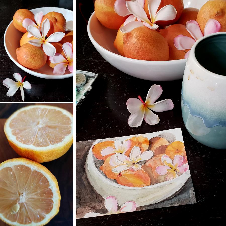 painting-pink-lemons