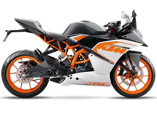 Review de la KTM RC 200