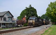 2020 07-30 1434-1 Norfolk Southern C44-9W-9484 W/B 203 Marion, PA