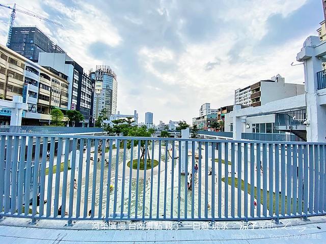 河樂廣場 台南景點 親子 一日遊 玩水