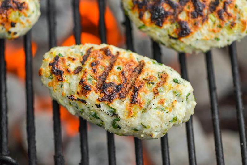 Chicken Meatball Banh Mi
