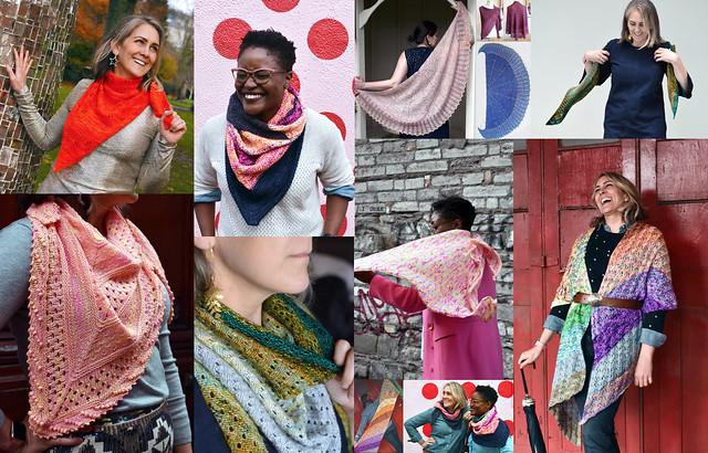 Knit Shawls by Evin Bail OKeeffe