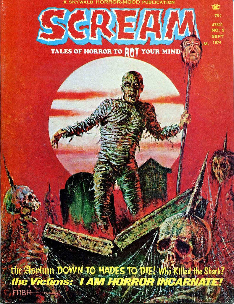 Scream Magazine, Issue 09, September 1974