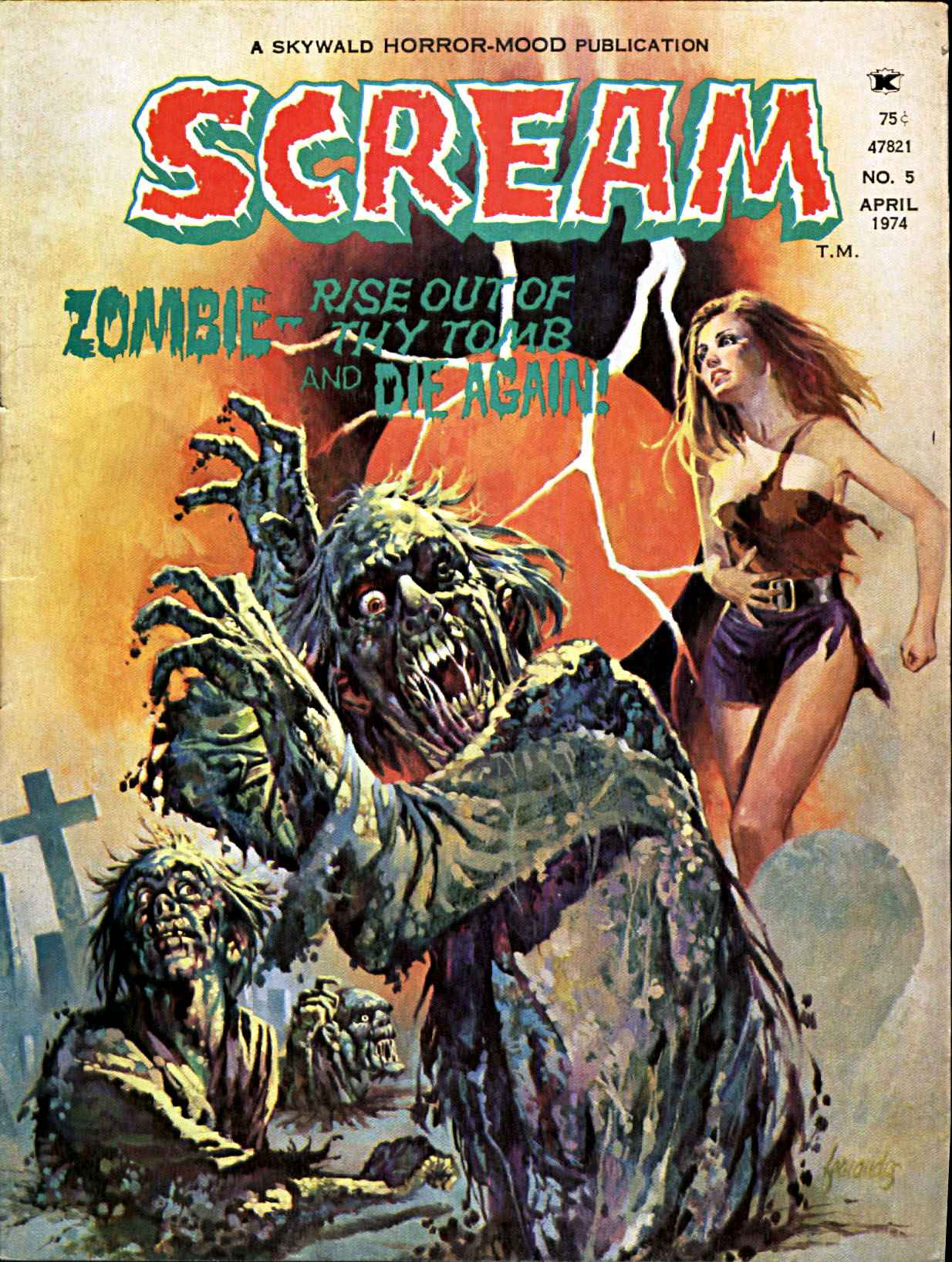 Scream Magazine, Issue 05, April 1974