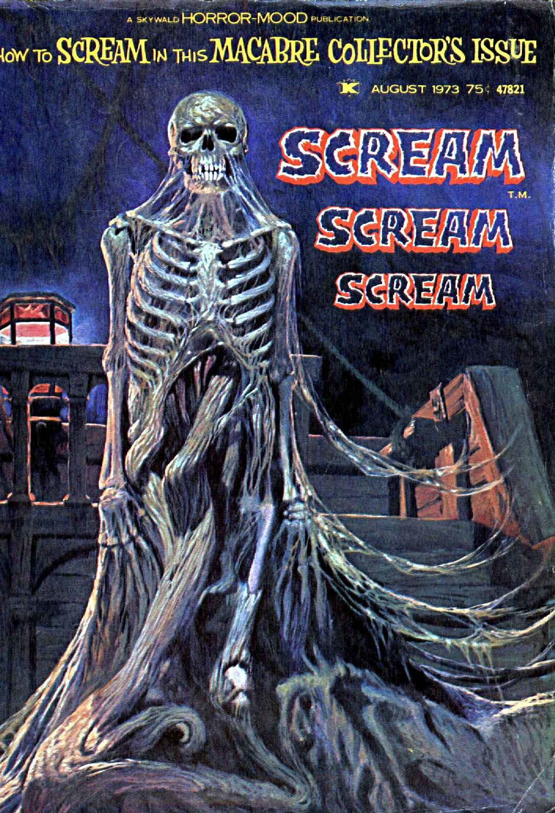 Scream Magazine, Issue 01, August 1973