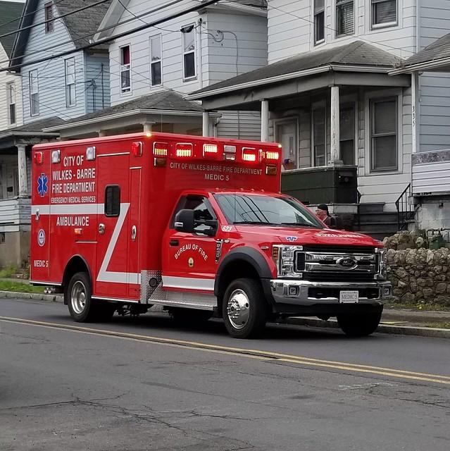 Wilkes-Barre Fire Department Medic 5